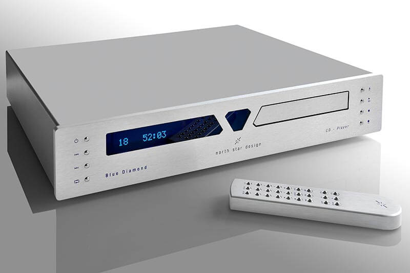 North Star Design - Blue Diamond CD player